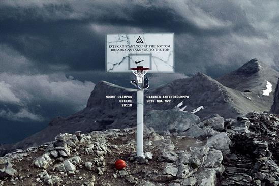 "Nike ""Giannis Antetokounmpo: Mt. Olympus"" by Wieden & Kennedy Amsterdam"