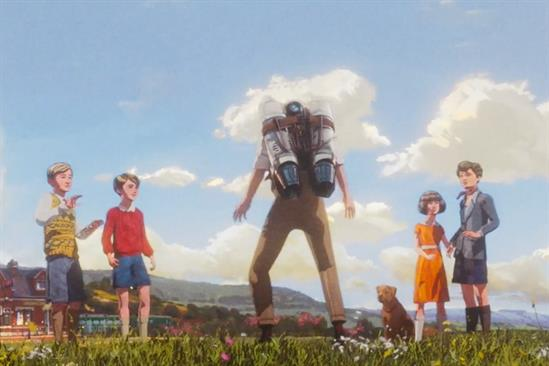 "Great Western Railway ""Five and the jetpack"" by Adam & Eve/DDB"