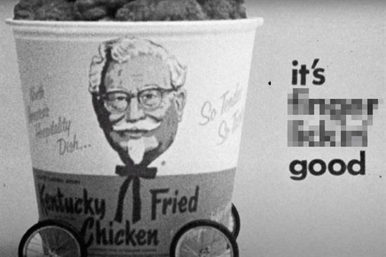 """KFC """"The world's least appropriate slogan"""" by Mother London"""