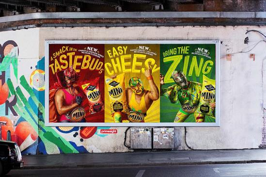 """Mini Cheddars """"Luchadores"""" by TBWA\London"""