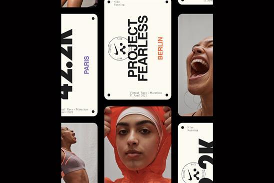 "Nike ""Fearless virtual race"" by R/GA"