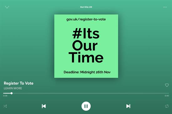 """Spotify """"It's our time"""" by Digitas UK"""