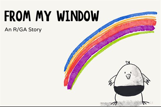 """From my window"" by R/GA London"