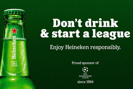 """Heineken """"Super League response"""" by Publicis Italy & Le Pub"""