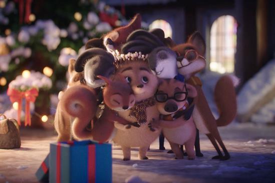 """Erste Group """"First Christmas"""" by Jung von Matt/Donau"""