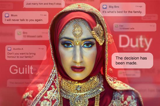 """The Home Office """"Forced marriage"""" by FCB Inferno"""