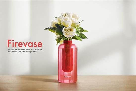 "Samsung Fire & Marine Insurance ""Firevase"" by Cheil Worldwide"