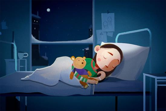 """Great Ormond Street Hospital Children's Charity """"Home for Christmas"""" by Adam & Eve/DDB"""