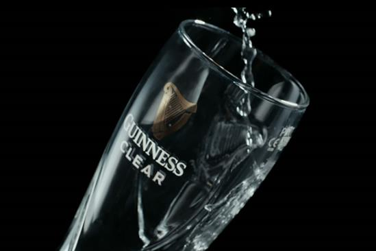 "Guinness ""Clear"" by AMV BBDO"