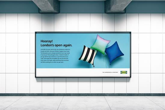 """Ikea """"Home can wait"""" by Mother London"""