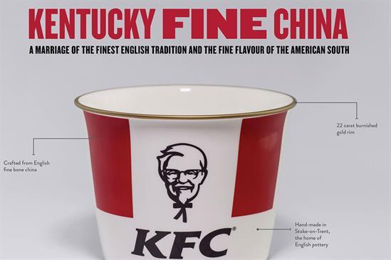 "KFC ""Kentucky Fine China"" by Iris"