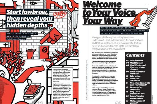 """Levi's and Guardian Labs """"Your voice your way"""" by OMD UK"""