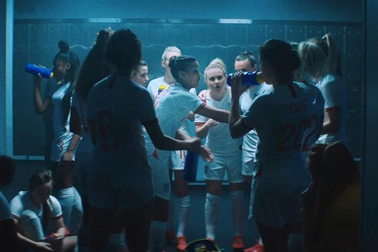 """Lucozade Sport """"Three Lionesses"""" by Grey London"""