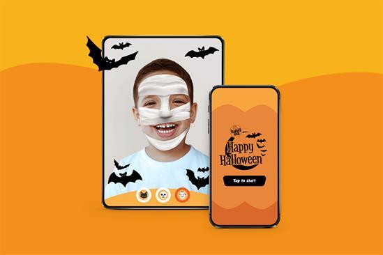 """McDonald's """"Spooky selfie"""" by R/GA London"""