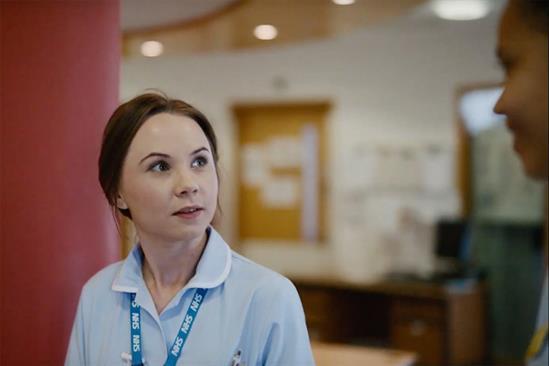 """NHS  """"We are nurses"""" by MullenLowe Group UK"""
