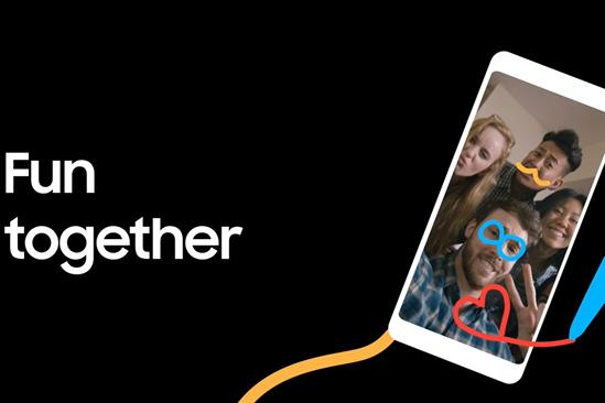"""Samsung """"Be together, even when you can't"""" by Cheil UK"""