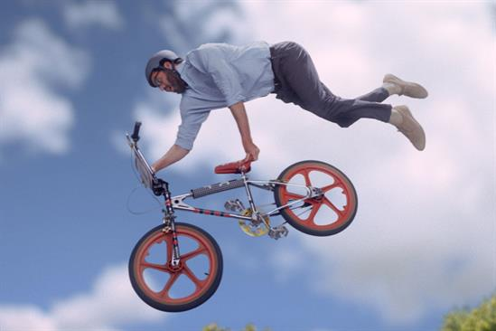 "Shredded Wheat ""Backyard BMX"" by McCann London"