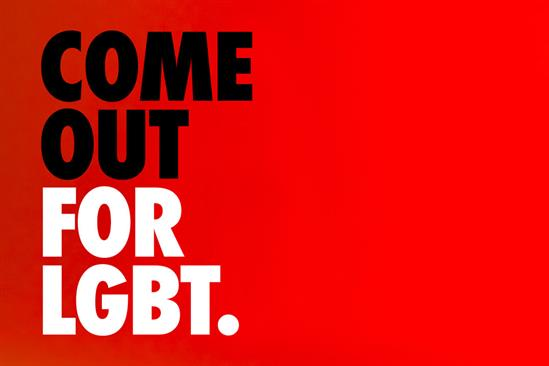 """Stonewall """"Come out for LGBT"""" by Mr President"""