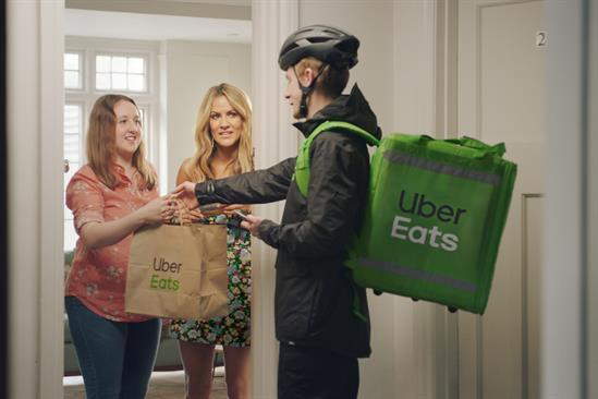 """Uber Eats """"Hungry for Love Island"""" by Mother London"""