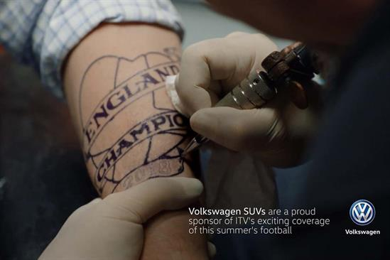 """Volkswagen """"Complete confidence"""" by Adam & Eve/DDB"""