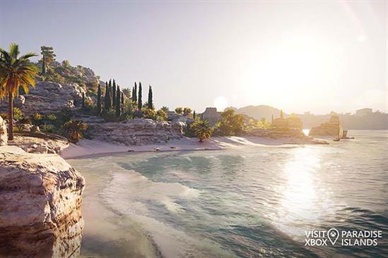 """Xbox """"Visit Xbox"""" by McCann UK"""