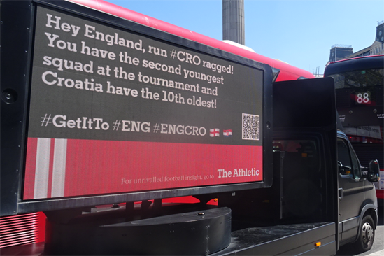"""The Athletic UK """"Euros 2020"""" by Harbour"""