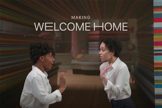 Behind the scenes of Apple's 'Welcome Home' with FKA Twigs