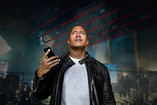 The Rock checks off his (first) bucket list in new Apple spot