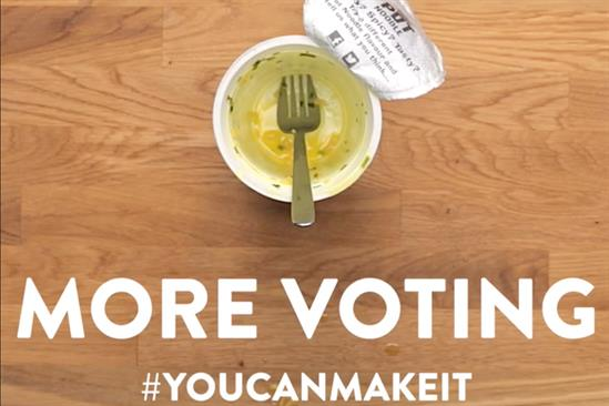 """Pot Noodle """"Less cooking, more voting"""" by Lucky Generals"""