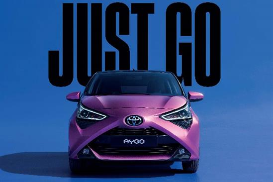 "Toyota ""Just go"" by The & Partnership"
