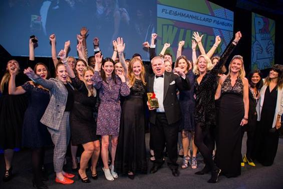 Winner: FleishmanHillard Fishburn picked up the Large Consultancy prize in 2018
