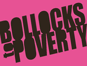ActionAid Bollocks to Poverty campaign