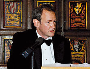 Alexander Armstrong at Asthma UK's annual gala dinner