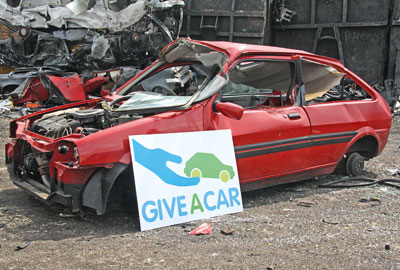 Giveacar takes donated cars, then sends them for disposal or resale