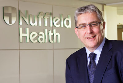 David Mobbs, chief executive of Nuffield Health