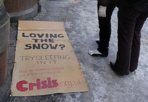 Crisis: 'spontaneous' campaign