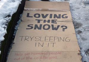 Crisis snow campaign