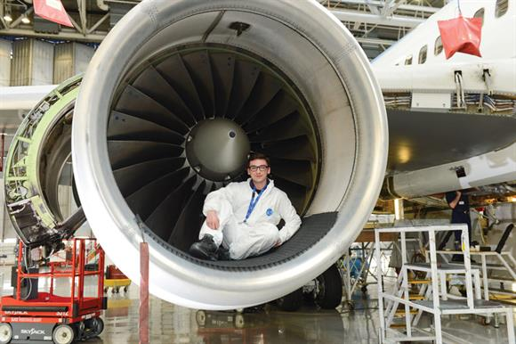 Get into Airports offers young people the opportunity to secure jobs with LLA or in related industries