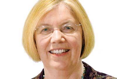 Professor Cathy Pharoah, author of the report