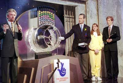 The first National Lottery draw