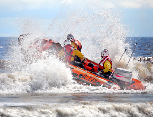A total of 25 swimmers had to be rescued during an event organised by the RNLI