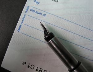Cheque abolition u-turn