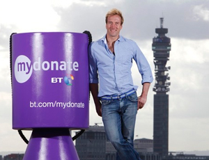 Broadcaster Ben Fogle launches MyDonate