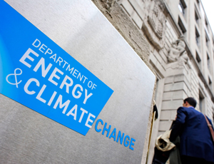 DECC: contracts of £1.3m-plus with the sector
