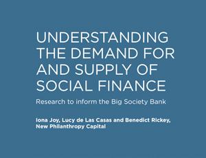 Big Society bank research