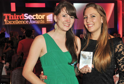 Winners in the 2011 Third Sector Excellence Awards
