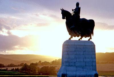 Bannockburn monument, a Historic Scotland property