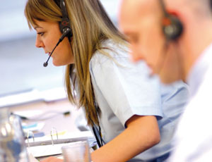Charity call centre