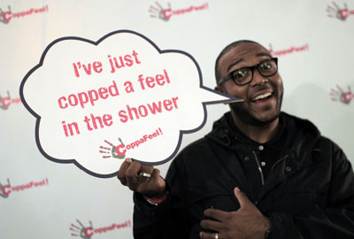 DJ MistaJam helps promote the health message