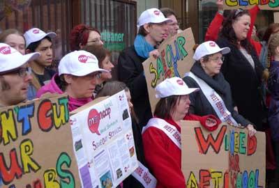 West Berkshire Mencap campaigns against cuts